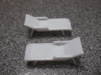 Pack of 2 Sun Loungers